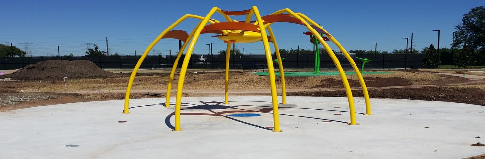 We provide a large selection of playground equipment in the Houston and surrounding areas.
